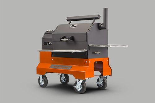 Yoder YS 640 Pelletgrill-Competition-Cart,