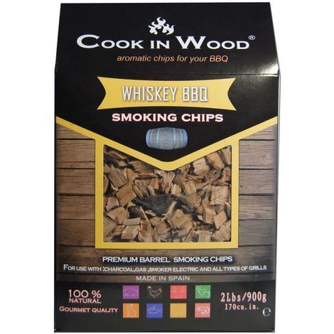 COOK IN WOOD Räucherchips Whisky 900 g