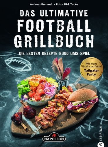 "Grillbuch ""Das ultimative Football Grillbuch"" (Art. Nr.: UFG-BOOK-DE)"